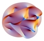 String theory: projection of 6D Chalabi-Yau manifold